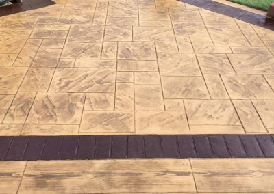 Pattern Imprinted Concrete Patio (32)