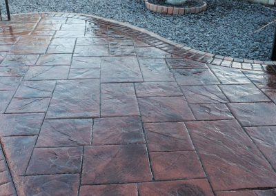 Pattern Imprinted Concrete Patio (87)